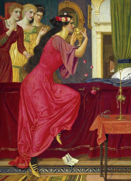 Strangling Painting - Sigismonda by Joseph Edward Southall