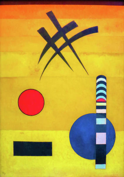 Wall Art - Painting - Sign - Digital Remastered Edition by Wassily Kandinsky