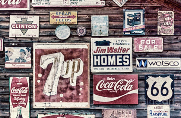 Wall Art - Photograph - Signage II by DiFigiano Photography