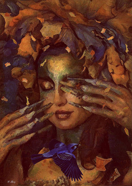 Wall Art - Mixed Media - Silent Flutter 002 by G Berry