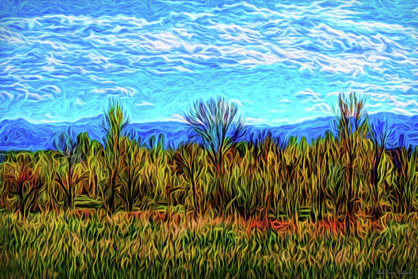 Digital Art - Silent Meadow Dancing by Joel Bruce Wallach