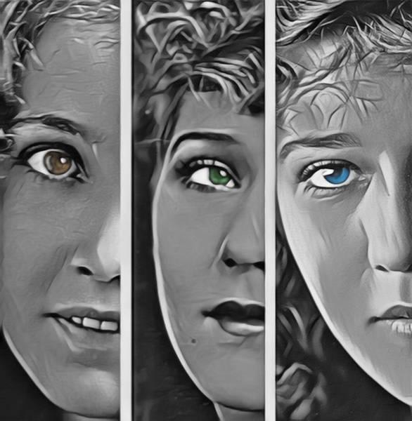 Wall Art - Digital Art - Silent Movie Stars by Steve K