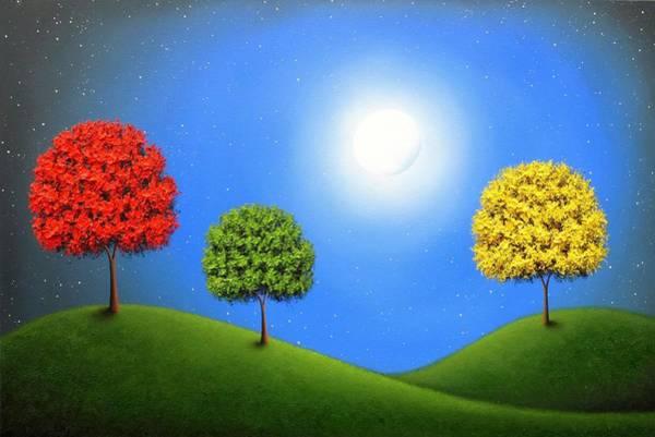 Wall Art - Painting - Silent Symphony by Rachel Bingaman