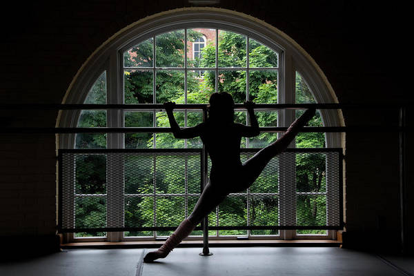 Photograph - Silhouette In Front Of Window  by Dan Friend