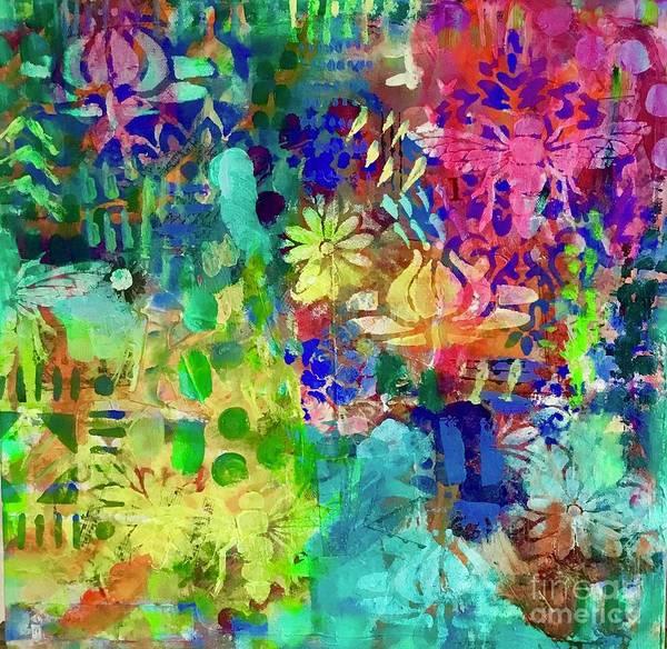 Mixed Media - Silky Dreams  by Corina Stupu Thomas