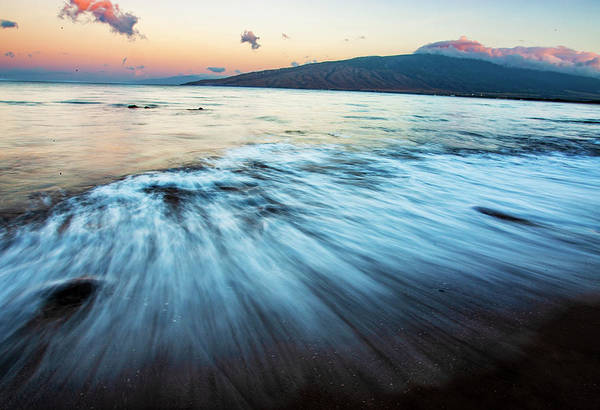 Photograph - Silky Waves by Anthony Jones