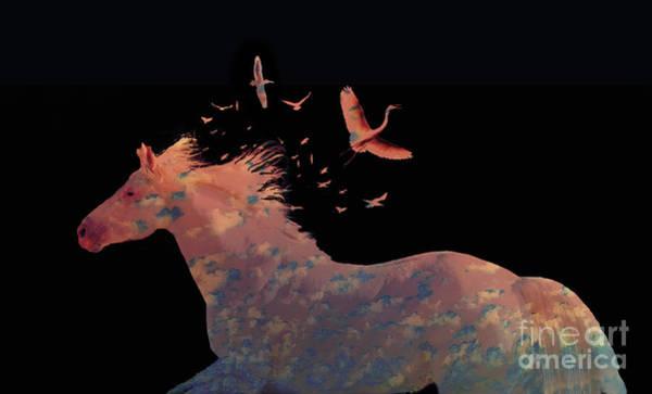 Digital Art - Sillouette Fantasy by Melinda Hughes-Berland