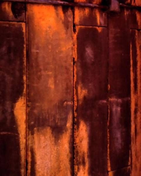 Photograph - Silo Abstract by Jerry Sodorff