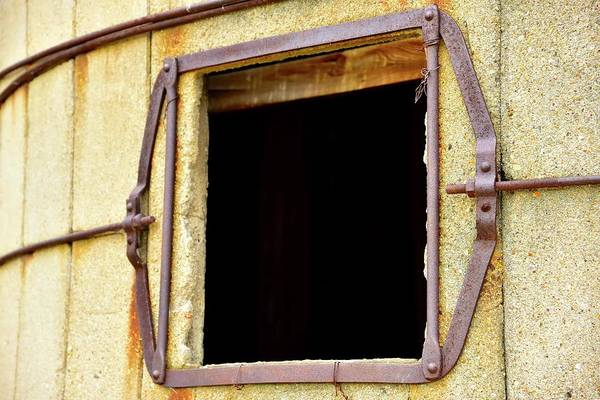 Photograph - Silo Check Window by Jerry Sodorff