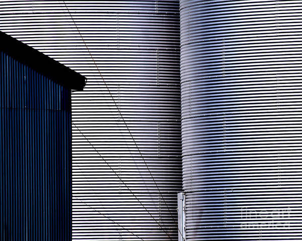 Photograph - Silo Door by Guntis Lauzums