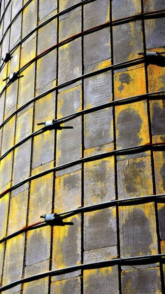 Photograph - Silo Patterns by Jerry Sodorff
