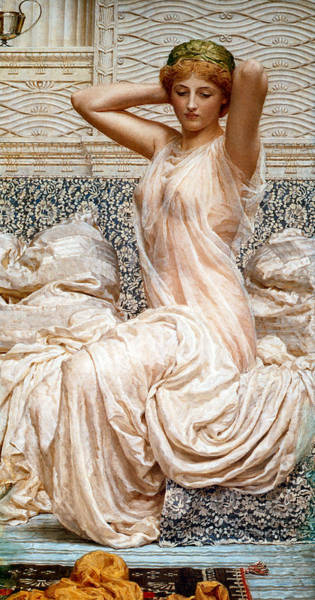 Painting - Silver 1886  by Albert Joseph Moore