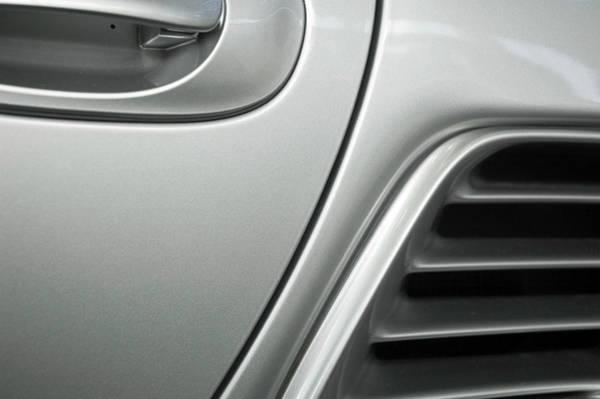 Door To Door Photograph - Silver Car Detail by Hanis