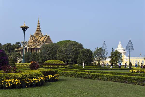 Phnom Penh Wall Art - Photograph - Silver Pagoda, Royal Palace, Phnom Penh by Photo By D. Johnson