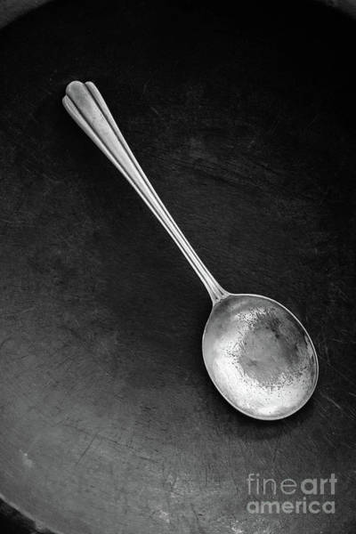Photograph - Silver Spoon by Edward Fielding