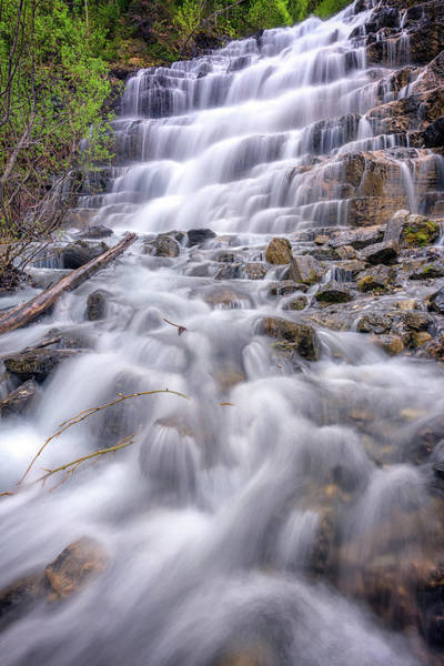 Wall Art - Photograph - Silver Staircase Falls by Rick Berk