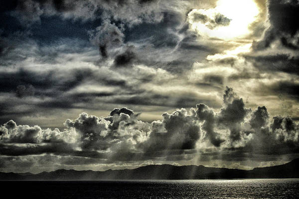 Photograph - Silver Sun Over St. Lucia by Bill Swartwout Photography