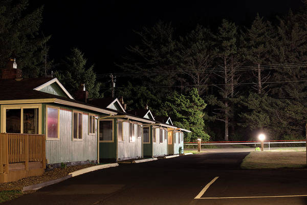Photograph - Silver Surf Hotel Hwy 101 Yachats Oregon  by Rospotte Photography