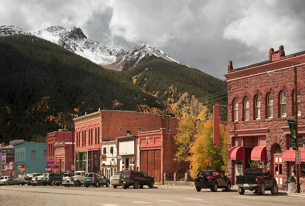 Small Town Usa Photograph - Silverton, Colorado by Missing35mm