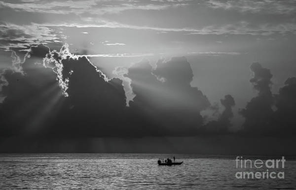 Photograph - Silvery Rays by Tom Claud