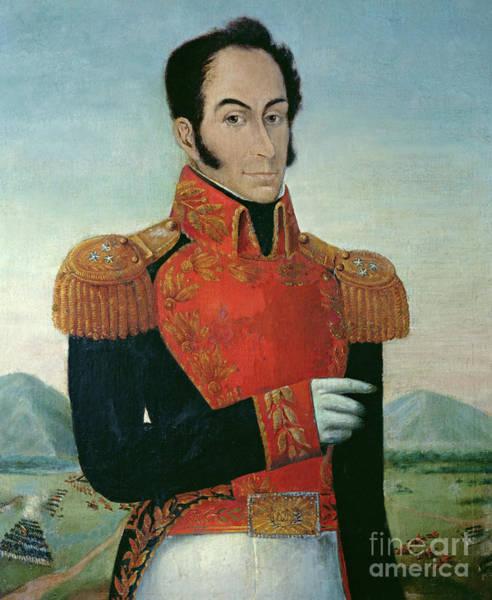 Wall Art - Painting - Simon Bolivar By Arturo Michelena by Arturo Michelena