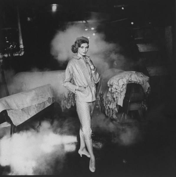Suit Photograph - Simone Bodin by Gordon Parks
