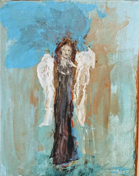 Painting - Simple Angel by Jennifer Nease