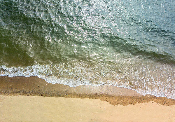 Wall Art - Photograph - Simple Beach Waves by Stephanie McDowell