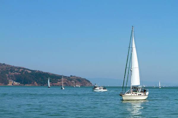 Photograph - Simply Sailing by Bonnie Follett
