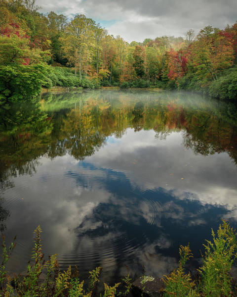 Photograph - Sims Pond Blowing Rock North Carolina by Mike Koenig