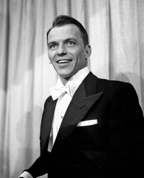 Photograph - Sinatra At The Academy Awards by Michael Ochs Archives