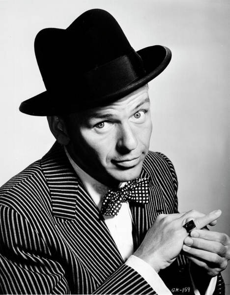 Franks Photograph - Sinatra Portrait by Michael Ochs Archives