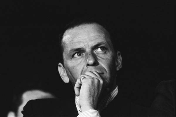 Election Photograph - Sinatra Supports Kennedy by Michael Ochs Archives
