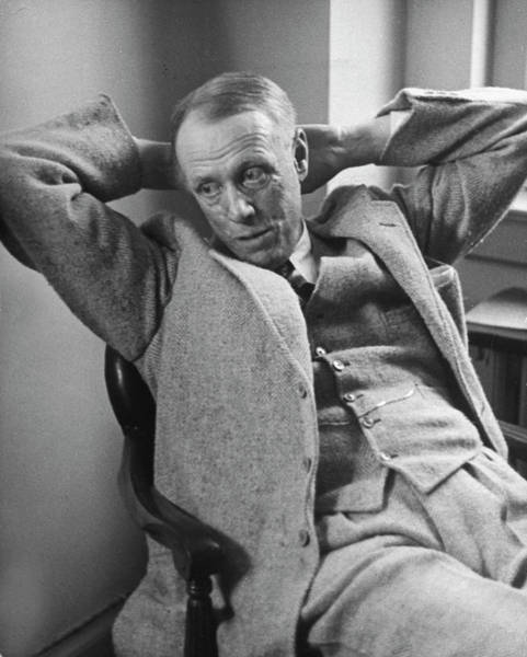 Wall Art - Photograph - Sinclair Lewis by Alfred Eisenstaedt