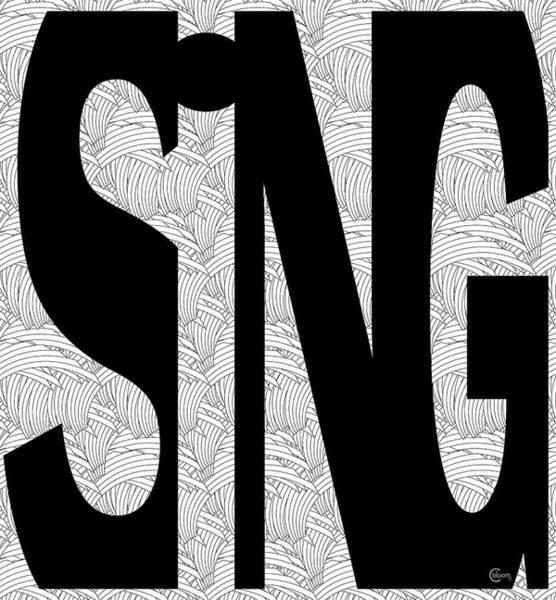 Digital Art - Sing Bold 1 by Cecely Bloom
