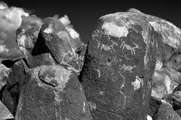 Photograph - Singal Hill Petroglyph #1 by Chance Kafka
