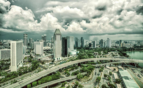 Photograph - Singapore by Chris Cousins