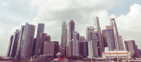Wall Art - Photograph - Singapore Cityscape The Second by Joseph Westrupp