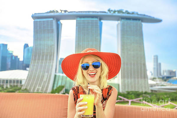 Photograph - Singapore Tourist Aperitif by Benny Marty