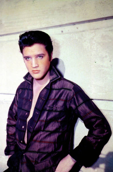 Photograph - Singer Elvis Presley by Getty Images