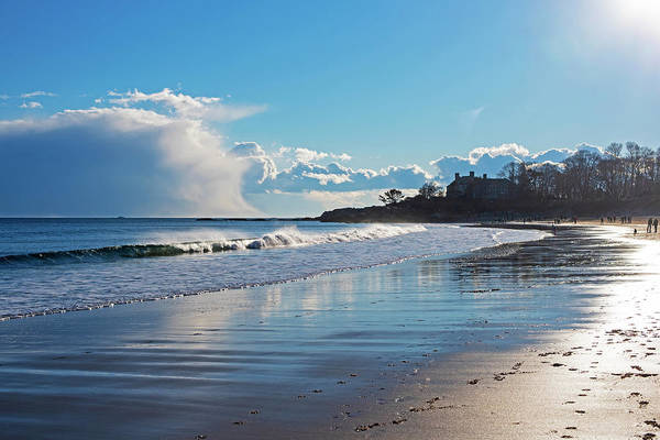 Photograph - Singing Beach Waves Ocean And Sky Manchester-by-the-sea Ma by Toby McGuire
