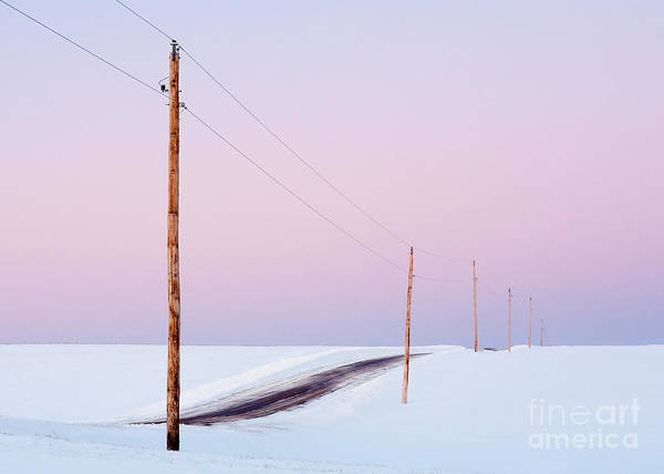 Transmission Wall Art - Photograph - Single Phase Electrical Power Lines by Todd Klassy