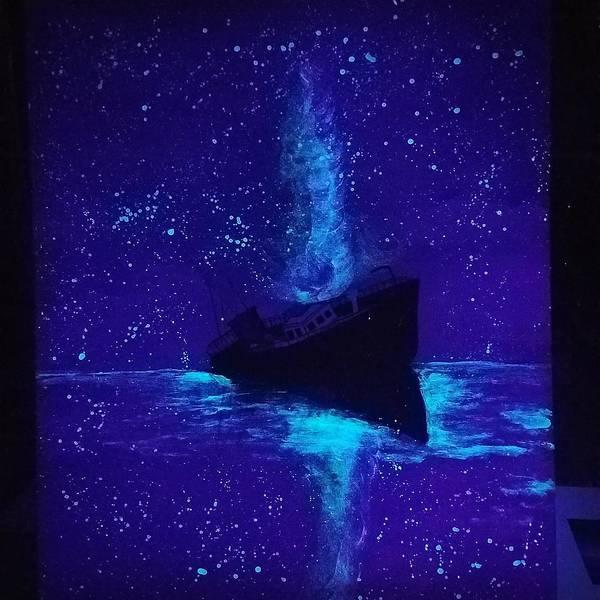 Painting - Sinking Ship  by Jennah Lenae