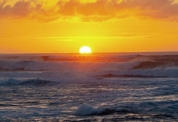 Photograph - Sinking Sun by Anthony Jones