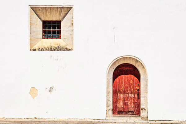 Photograph - Sintra Window And Door - Portugal by Stuart Litoff