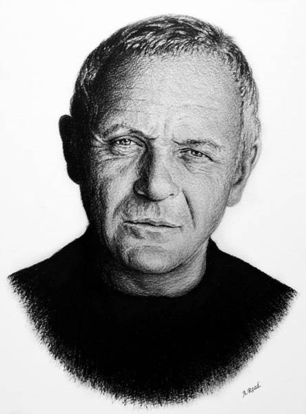 Wall Art - Drawing - Sir Anthony Hopkins by Andrew Read