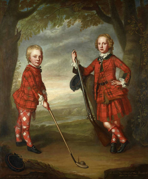 Wall Art - Painting - Sir James Macdonald And Sir Alexander Macdonald by Unknown