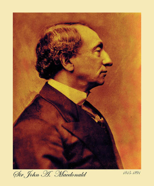 Photograph - Sir John A Macdonald 7 by Andrew Fare
