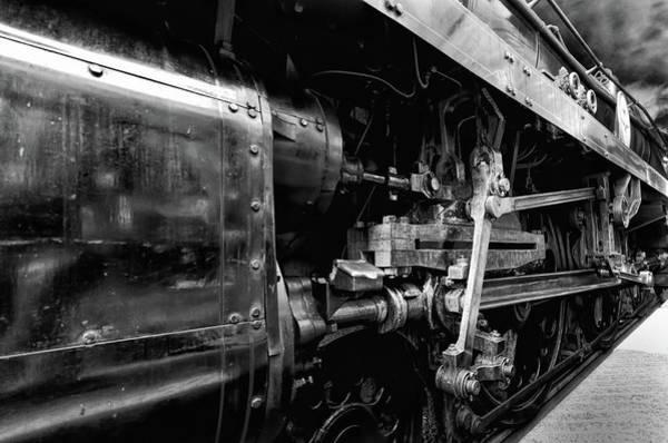 Photograph - Sir Keith Park Mono by Steam Train