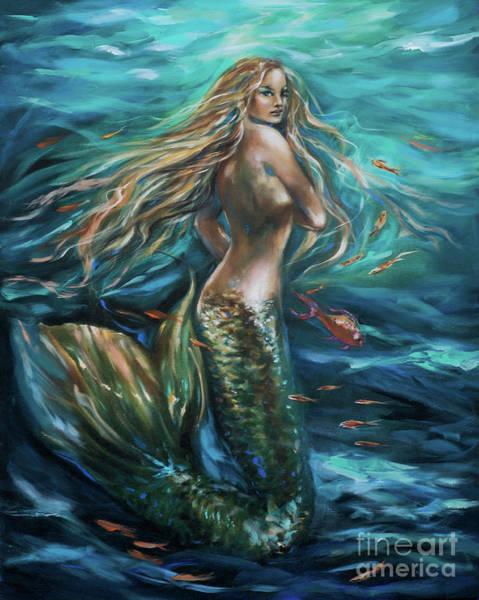 Painting - Siren Turnaround by Linda Olsen